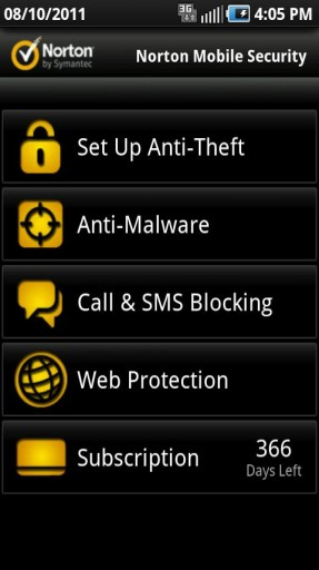 Samsung phone tracker app by Norton Securtiy